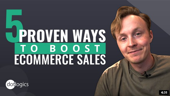 5 Proven Ways to Boost eCommerce Sales